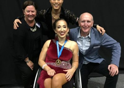 Ceasar and Jo with Minister Dawson WA Open DanceSport Championship 2018