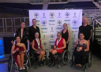 Perth Para Dancers at the Australian DanceSport Championship 2018