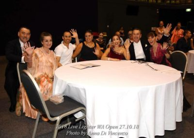 Group Photo WA Open DanceSport Championship 2018