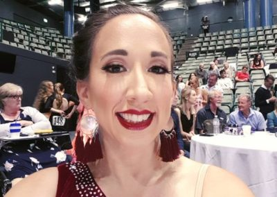 Ready to go at the Australian DanceSport Championship