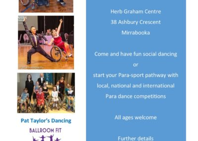 Para Dance Come and Try Day 4 May 2019