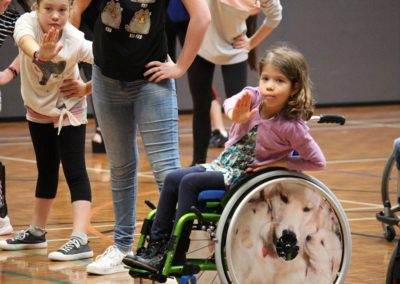 Para dance Come and Try Day 4 May 2019 1