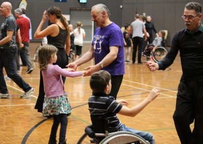 Para dance Come and Try Day 4 May 2019 10
