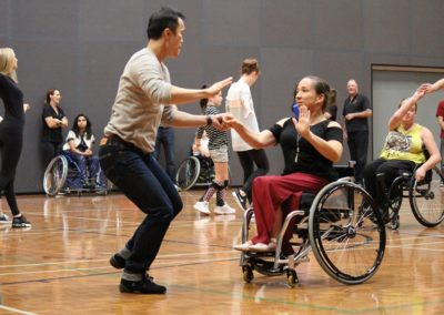 Para dance Come and Try Day 4 May 2019 12