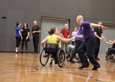 Para dance Come and Try Day 4 May 2019 13