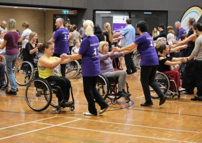 Para dance Come and Try Day 4 May 2019 2