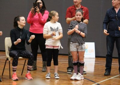 Para dance Come and Try Day 4 May 2019 3