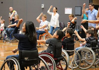 Para dance Come and Try Day 4 May 2019 6