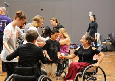 Para dance Come and Try Day 4 May 2019 8