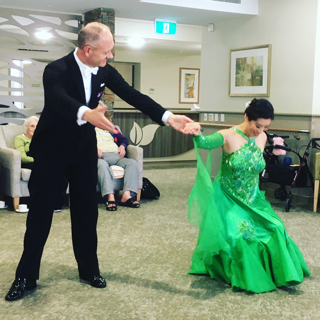 Green dress Armadale 4