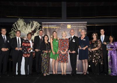 2019 Alumni Curtin University Awards