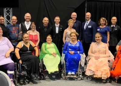 WA Open dancers Stephen Dawson, Gordon Gilks, Judy Pegus